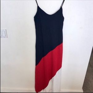 Tommy Hilfiger Color-block Maxi Dress M